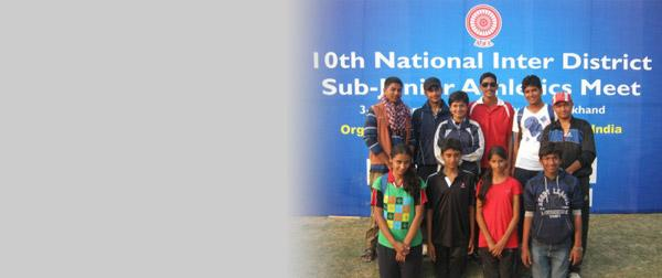 Bareilly-10th National Inter District athletics Meet-2012